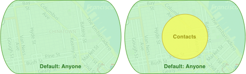 no geofences, common use case