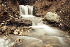 (McHeras) Tags: life autumn water river flow nikon stream long exposure 8 macedonia f nd nikkor source 67 vr streamlet hoya 18105 67mm emporio d90 f3556 nd8 3556    18105mm      doublyniceshot mygearandme