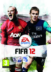 FIFA 12 UK pack shot with Wayne Rooney and Jac...