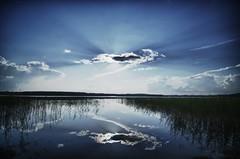 Finnish landscape (villesep) Tags: summer green nature water finland nikon tokina hdr savonlinna d90 1116mm