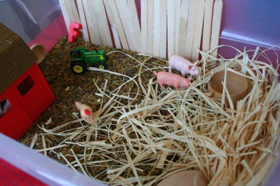sensory tub-farm scene 1