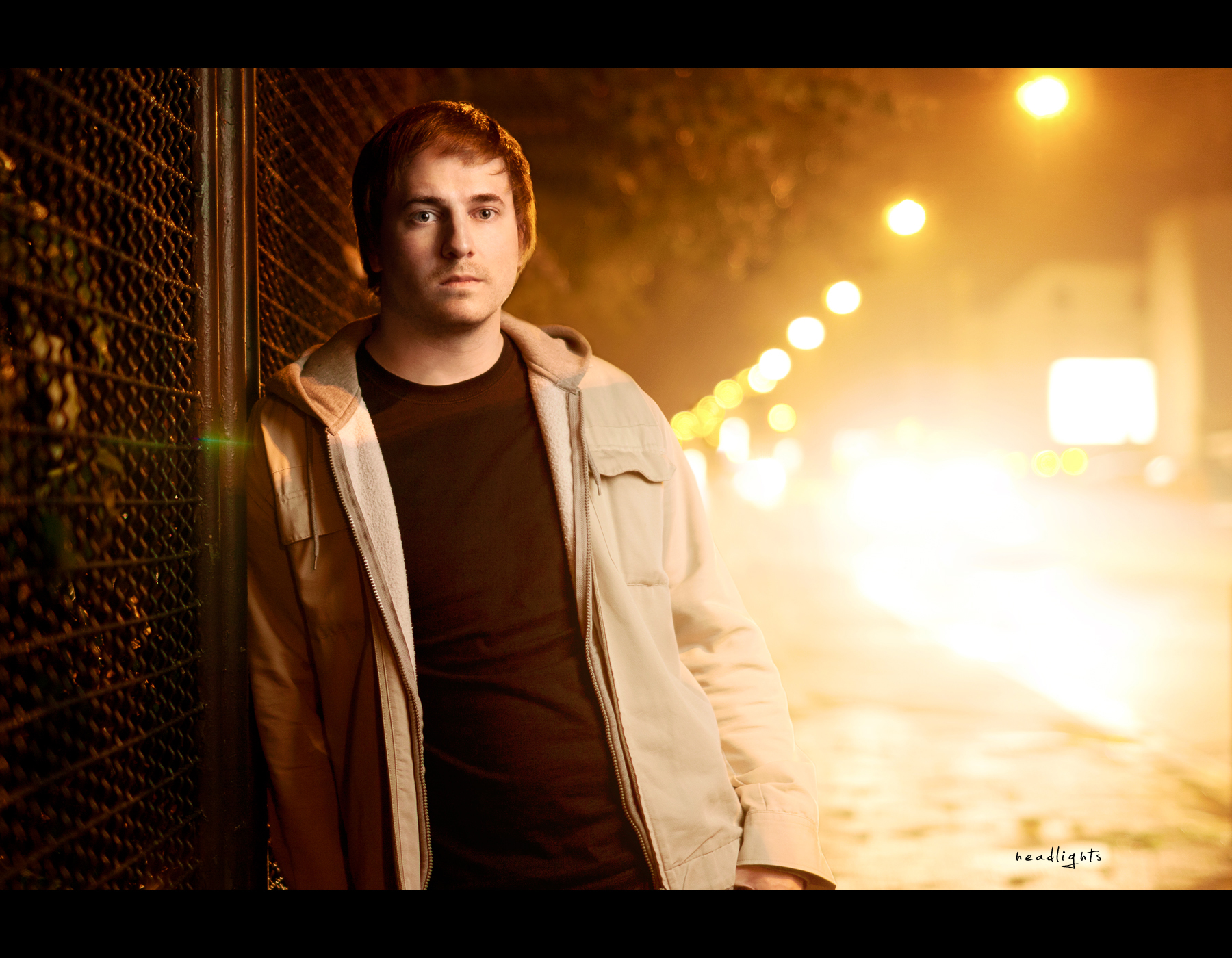 Project 365, Day 357, 357/365, Self Portrait, Bokeh, Strobist, flare, cars, streetshot, nightshot, headlights, warm, ourdailychallenge, odc, bokeh bubbles, bokeh balls, Sigma 50mm F1.4 EX DG HSM, 50 mm,