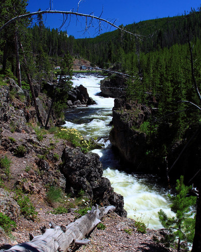 8x10 Firehole River Yellowstone