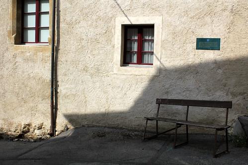 auvernier: bench