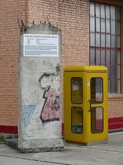 Originales Teilstück der Berliner Mauer
