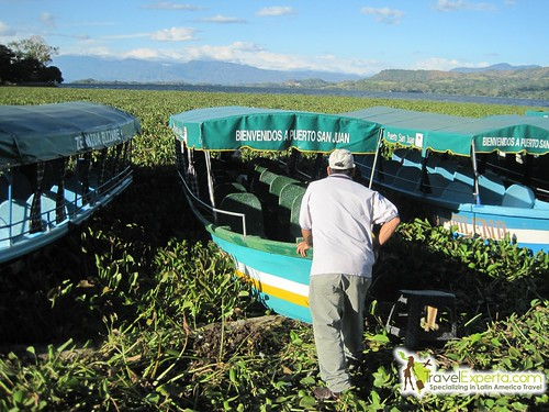 Lake Suchitlan Tourist Center El Salvador Boat Tour Sea Of Lilies