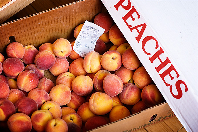 Week in the Life Monday Peaches 1