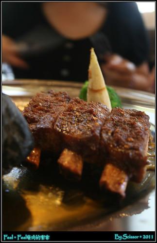 石烤豬肋排