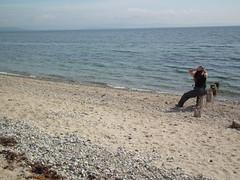 Enjoying the view (Screwdriver32,more off than on :-() Tags: sea beach scotland fuji finepix fujifilm arran isleofarran sannox hs10 hs11 myfuji ayrshirecoast screwy32 screwdriver32 myfjui johnscrewdriver