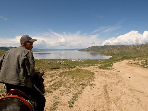 Horse guide + Tsagaan Nuur