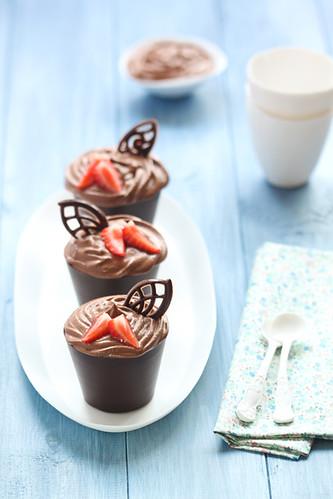 Gots de deliciosa mousse de xocolata