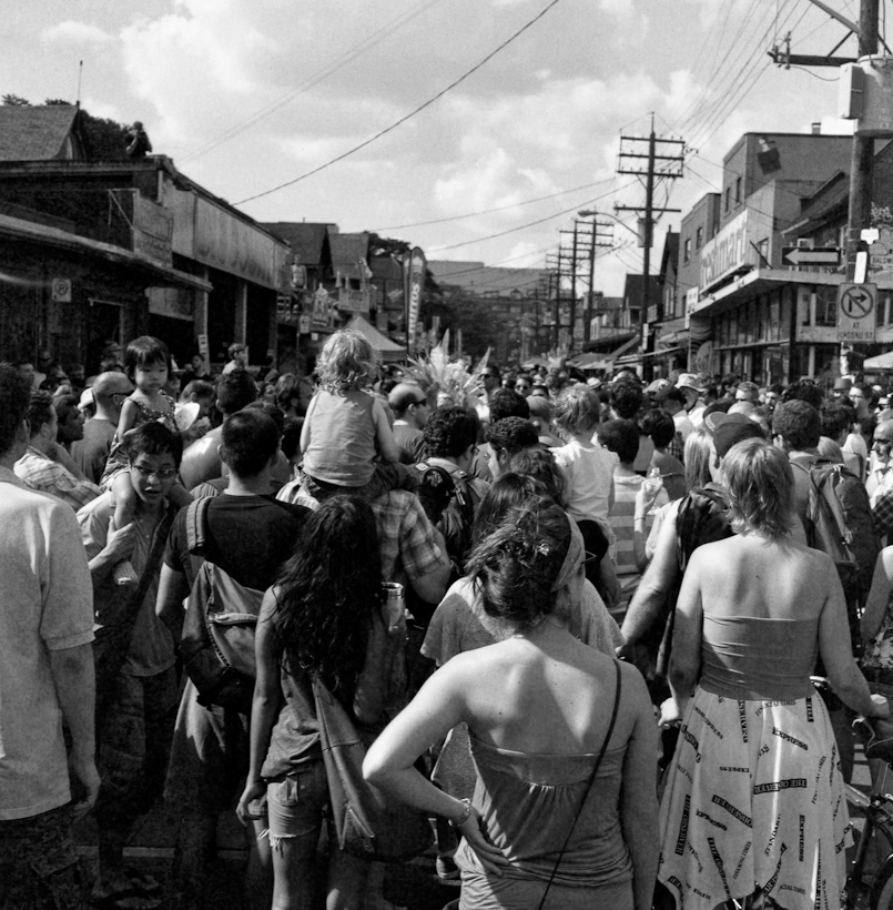Pedestrian Sunday At Kensington Market