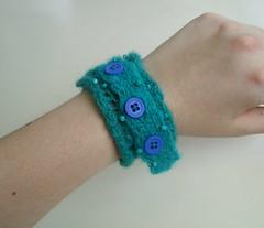 Knitted Lace Bracelet - Underwater Trampoline