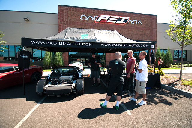 Radium Engineering at PSI's Summer Cruise-In.JPG