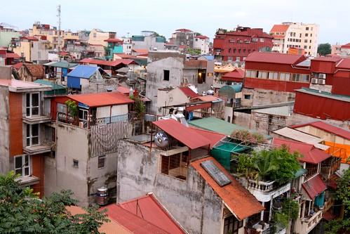 Rooftops of Hanoi
