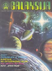 1984 decembar (YUGODROM) Tags: magazine science cover 1984 jugoslavija galaksija casopis