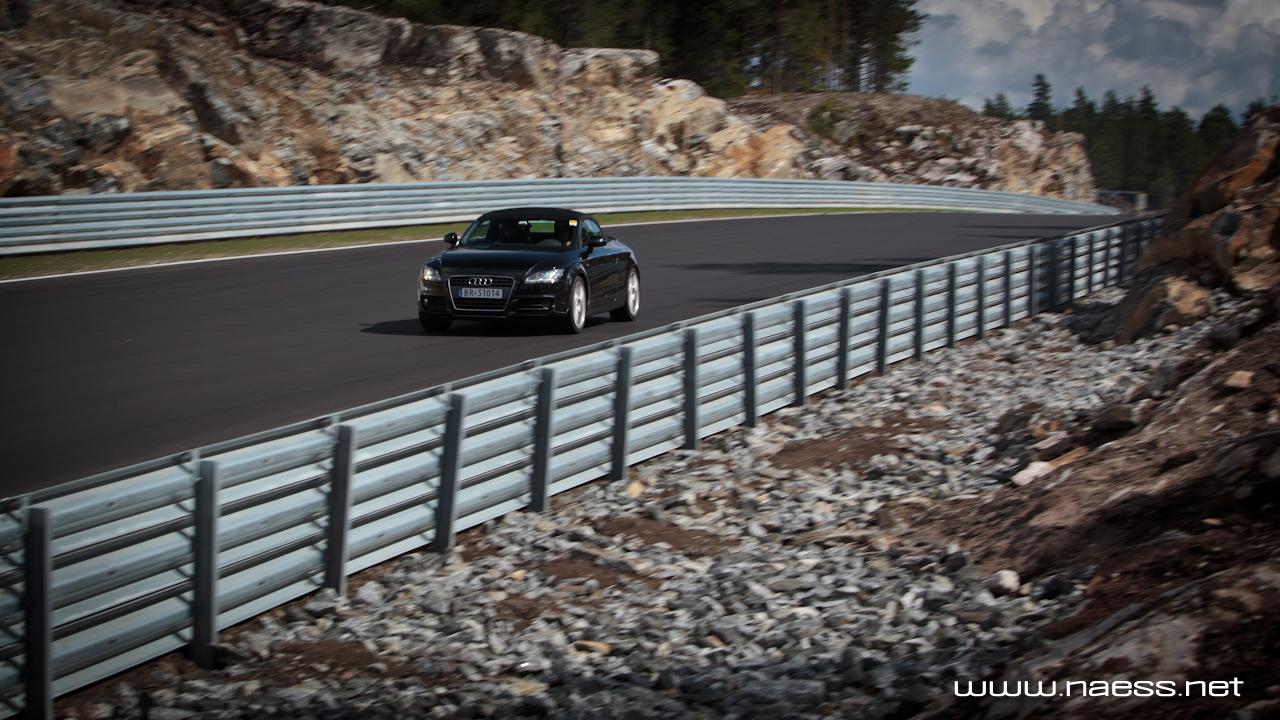 Audi TT on Track