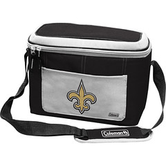 New Orleans Saints Coleman 12 Pack/Can Cooler Bag