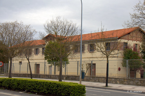 Fábrica de productos químicos Huntsman, la antigua Inquinasa (Industrias Químicas de Navarra, SA)