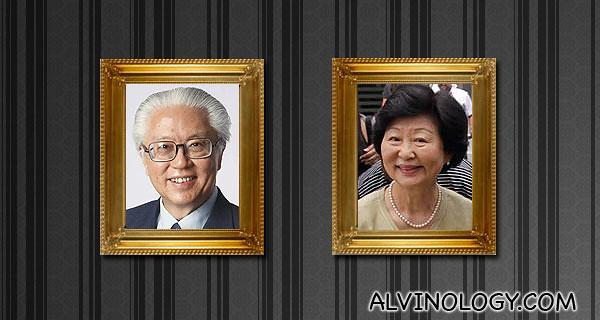 Mr and Mrs Tony Tan