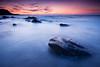 Plage Saint Michel (Erquy, Bretagne) (jonlp) Tags: sunset sea mer beach nature landscape brittany bretagne natura plage hondartza itsasoa paisajea