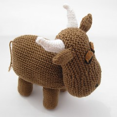 Tags: toy cow knitting pattern knit bull plush etsy knitted