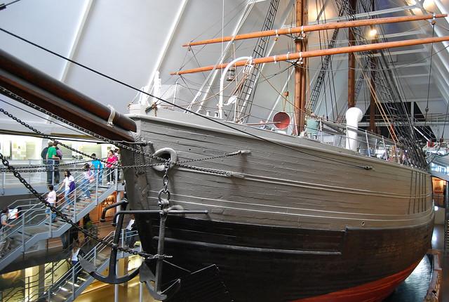 6008973536 c4dcd189c3 z Fram Museum in Oslo, living adventure history
