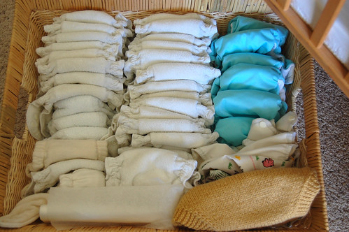 newborn diaper stash