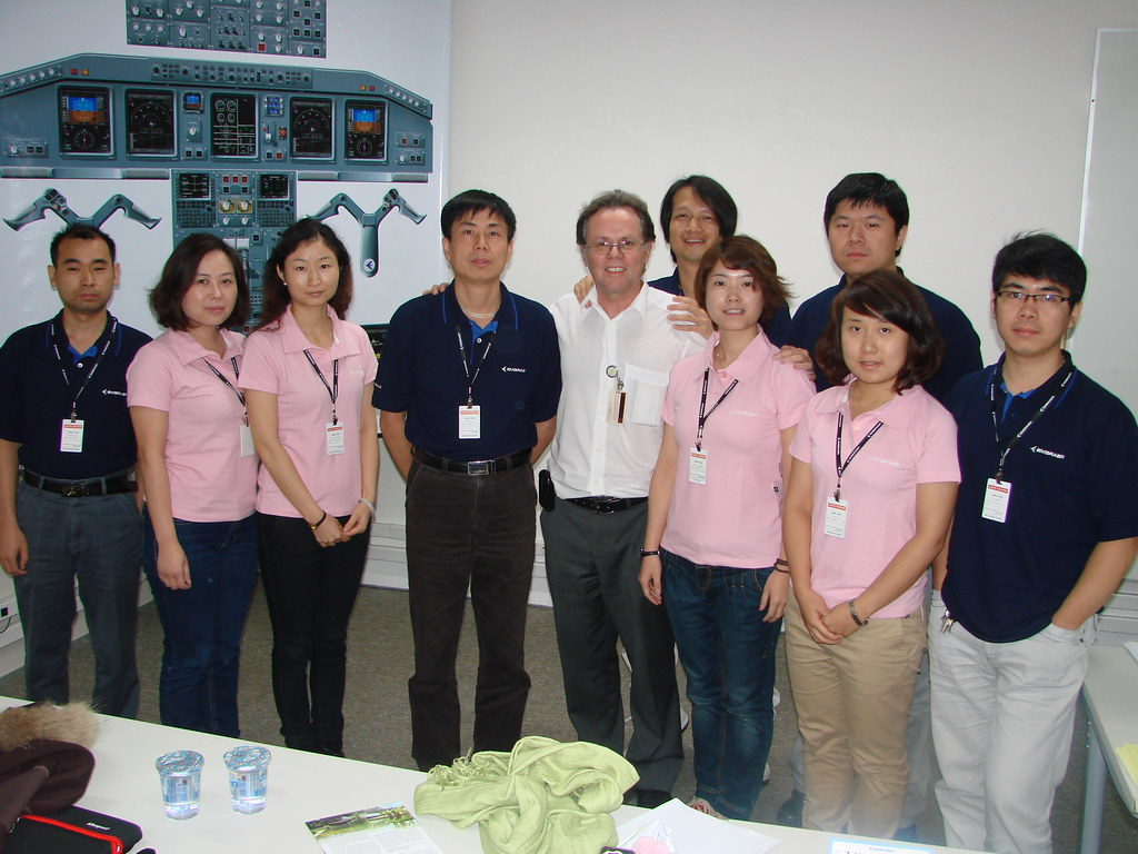 CHINA SOUTHERN AIRLINES - E-JETS FDC (FLIGHT DISPATCHERS COURSE) - From July 21st to July 26th, 2011