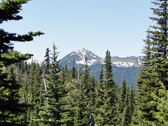 Views from Crystal Lakes trail above lower lake.