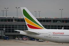 Ethiopian Boeing 777-260LR ET-ANO (Fasil Avgeek (Global Planespotter)) Tags: airplane iad aircraft aviation jet boeing airlines 777 airliner etano ethiopian kiad 200lr
