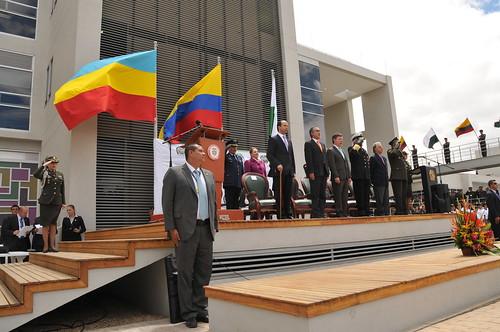 Inauguración Estación de Policía Soacha