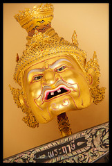 Khon Head Figure (LifeisPixels - Thanks for 650,000 views!) Tags: museum court giant lens thailand temple is dance priceless sony traditional chinese entrance objects sala used thai historical 16 alpha which sian artifacts dt sien usd fee the countess merely chonburi a55 anek kuson viharn 18250mm lifepixels viharnra 356318250 lifeispixels sonyalphathailand sienchonburi lifeispixelscom