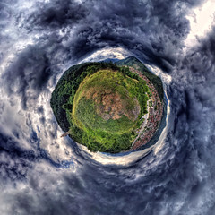 Doom's Day! (geopalstudio) Tags: sky panorama clouds 360 bulgaria drama hdr d7000 promoteremotecontrol panomagiceu