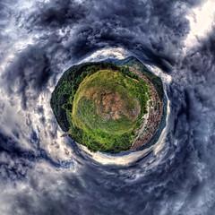 Doom's Day! (geopalstudio) Tags: sky panorama clouds 360 bulgaria drama hdr d7000 promoteremotecontrol panomagiceu