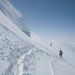 Gaining the Summit Ridge