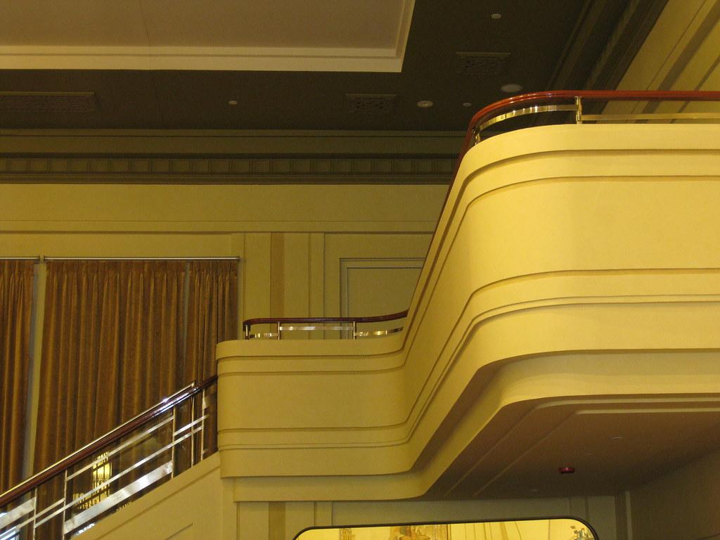 Streamline Moderne Mannequin Balcony - Myer Emporium Mural Hall, Bourke Street, Melbourne