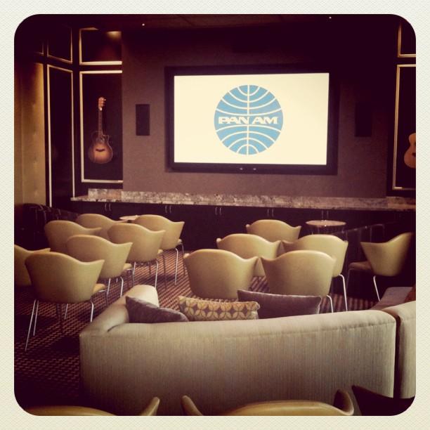 Pan Am screening. #BlogHer11