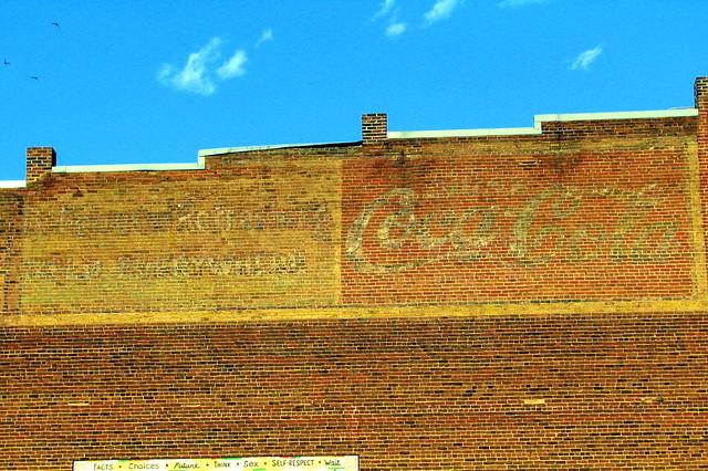 faded Coca-Cola wall ads - Roanoke, VA