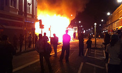 Hundreds of young people initiated a rebellion in Tottenham North London in the aftermath of the police killing of Mark Duggan. Economic distress and police brutality is at the root of the disturbances. by Pan-African News Wire File Photos