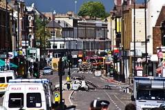 Tottenham after riots by JGent2010