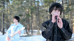Shooting 'Anyways' in The Okanagan (Pennan_Brae) Tags: kelowna musicvideo singersongwriter okanaganvalley anyways pennanbrae mogcat
