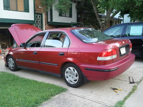 Honda civic 1997 4 door