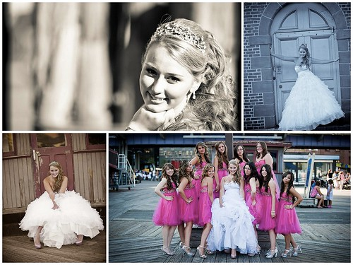 Brianna's Sweet Sixteen, hair piece and jewelry bru Bridal Styles Boutique, images - Angelic Photos