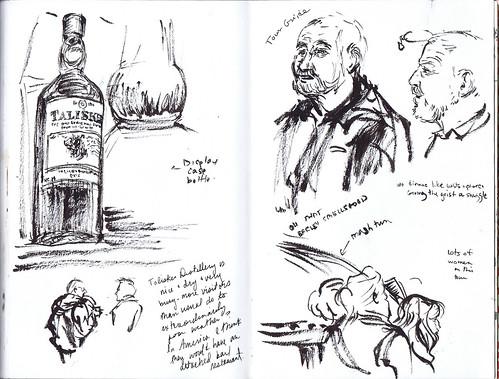 Talisker distillery tour