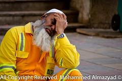 POST-0057-2 (m.almazyad) Tags: man birds muslim islam mosque holy worker mecca makkah