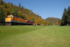 DSD_7752 (Greying_Geezer) Tags: autumn ontario canada fall colors colours scenic trains autumncolours railways railroads saultstemarie on algoma agawacanyon traintour