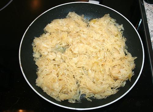 12 - Sauerkraut anbraten