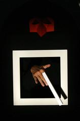 """Brane_Solce_teatropapelito4 (Pinacoteca Internazionale dell'Età Evolutiva """"Ald) Tags: teatro spettacolo rezzato papelito guardaluccellino pinac silviapalermo branesolce"""