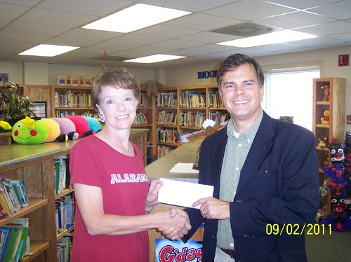 Lacey's Spring Check Presentation 2011